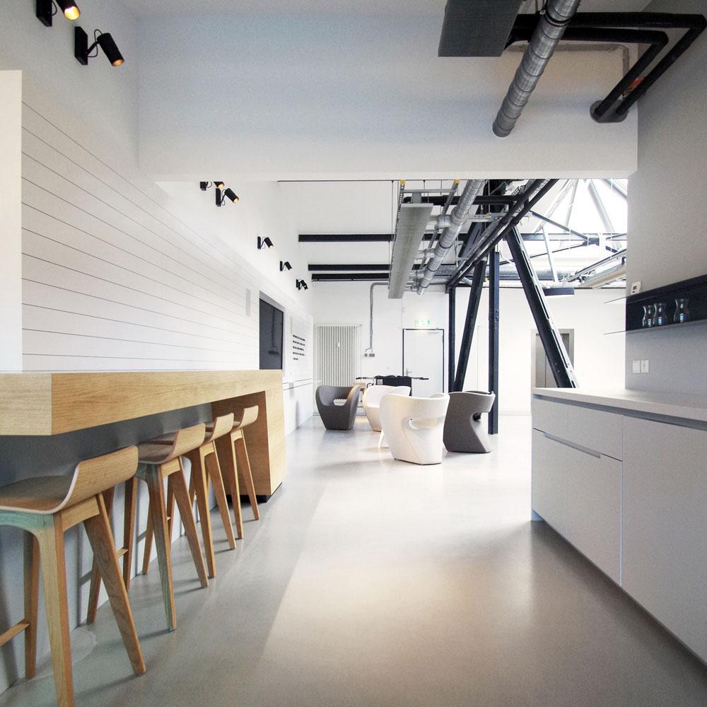 Küche, Bar und Lounge vom McCann Office in Berlin 2016 - Tünnissen Interiors, Messen, Events und Ausstellungen NRW Deutschland Europe