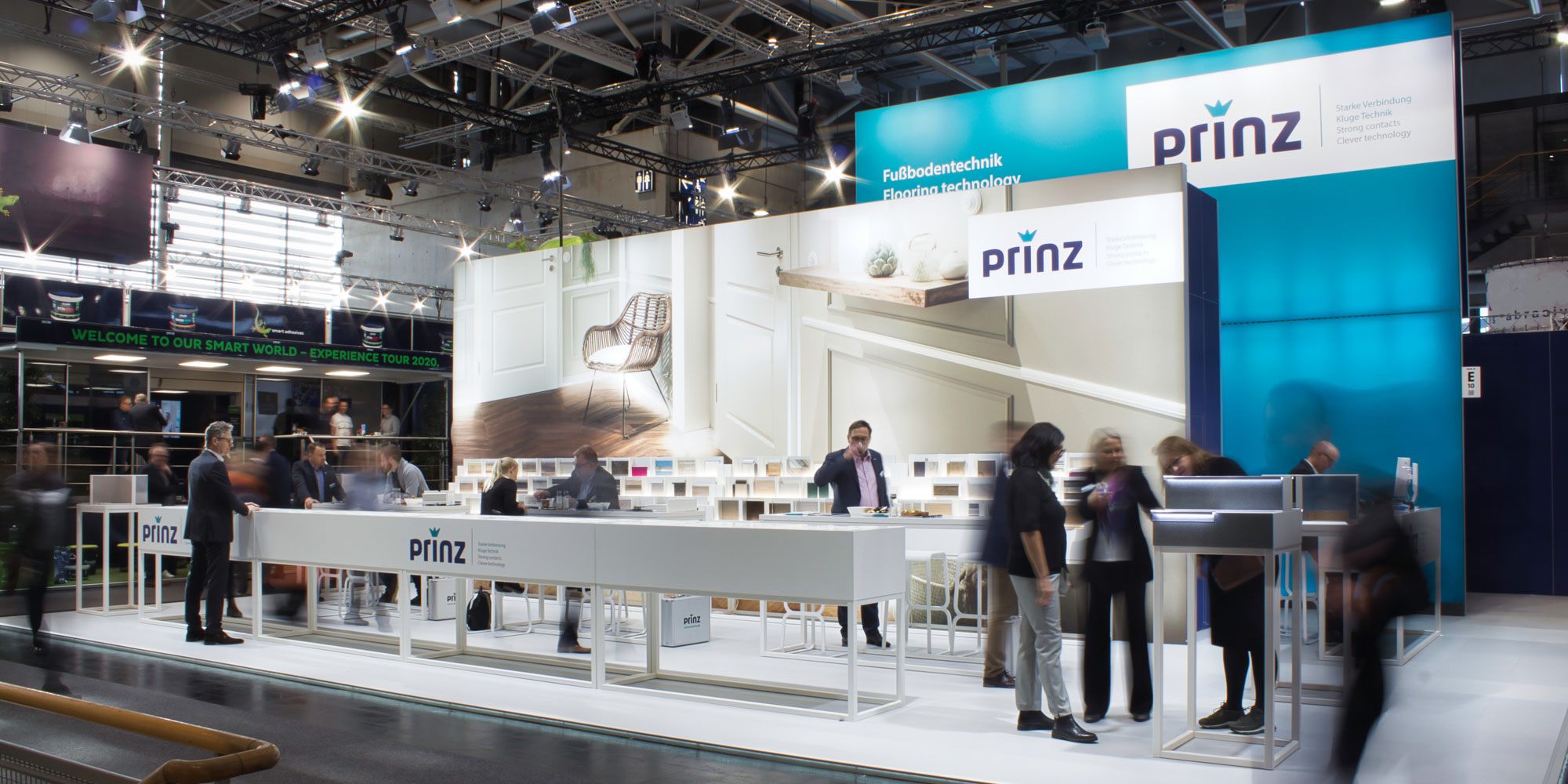 Messestand von Prinz auf der Domotex 2019 in Hannover Deutschland Europe - Tünnissen Interiors, Messen, Events und Ausstellungen NRW Deutschland Europe