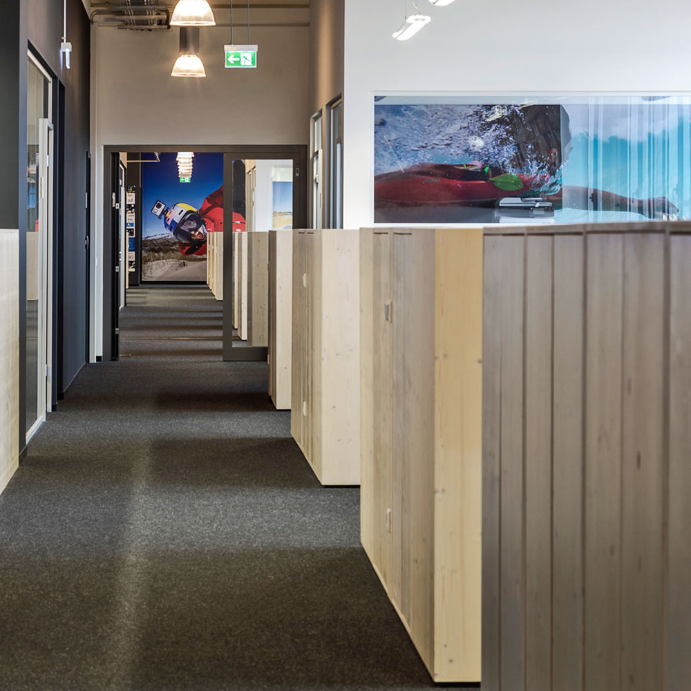 Office von GoPro in München - Tünnissen Interiors, Messen, Events und Ausstellungen NRW Deutschland Europe